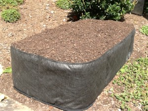 fabric raised bed vegetable gardens Instant Organic Garden